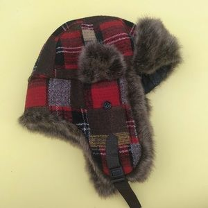 MUDD Bomber Winter Hat Plaid